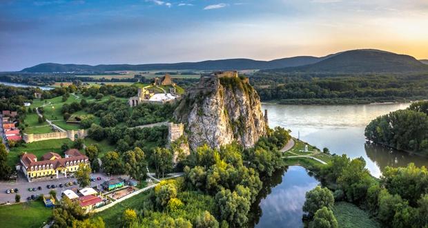 La visite du château de Devin et Bratislava
