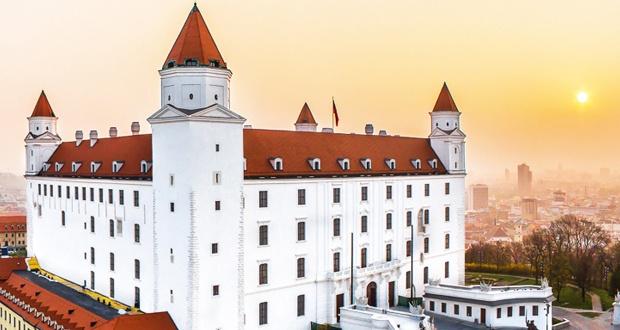 La visite du château de Bratislava et la vieille ville