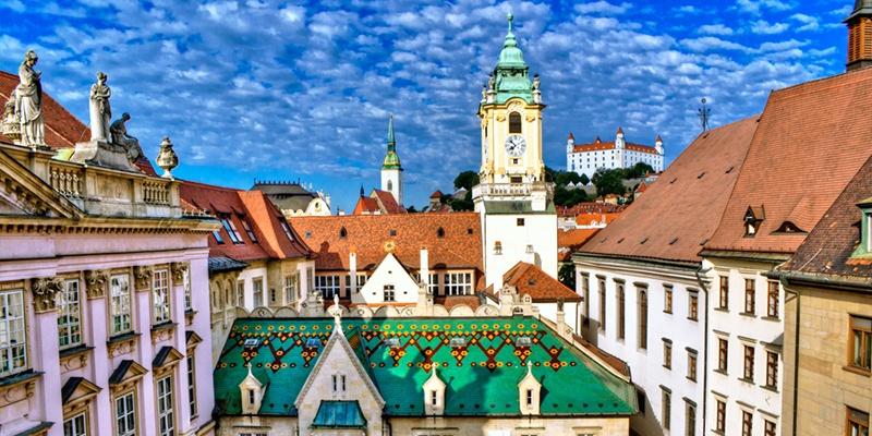 Bratislava Hľadanie pokladu