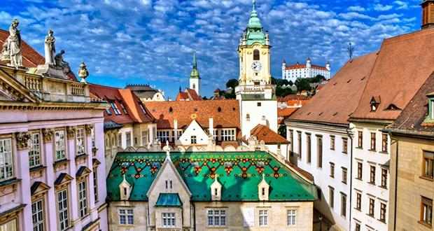 La visite de la vieille ville de Bratislava