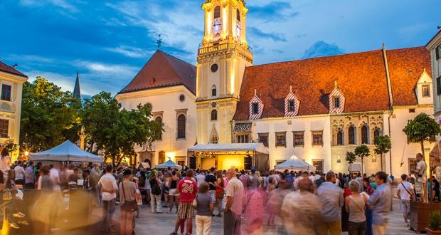 obľúbené prehliadky Bratislavy