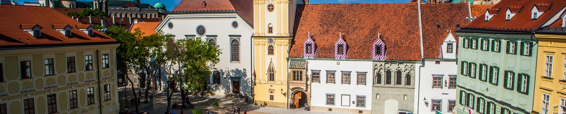 Základné prehliadky Bratislavy