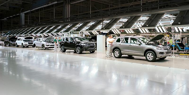 Bratislava VW Factory Tour