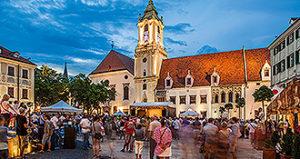 Best of Slovakia Tours - Bratislava Old Town