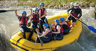 Teambuilding v Bratislave - Rafting
