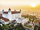 1. Le château de Bratislava