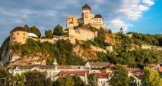 Jednodňové výlety z Bratislavy - Trenčiansky hrad a Piešťany